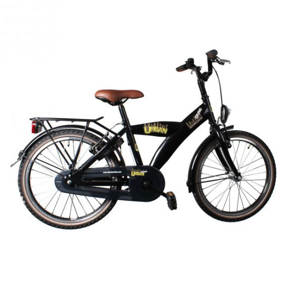 Bike Fun Urban Grunge 24 Inch 39 Cm Jongens V Brake Zwart
