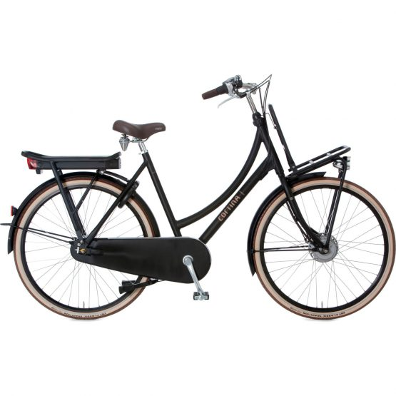 Cortina E-U4 N7 RB Dames 2019 Jet Black Matt 50cm